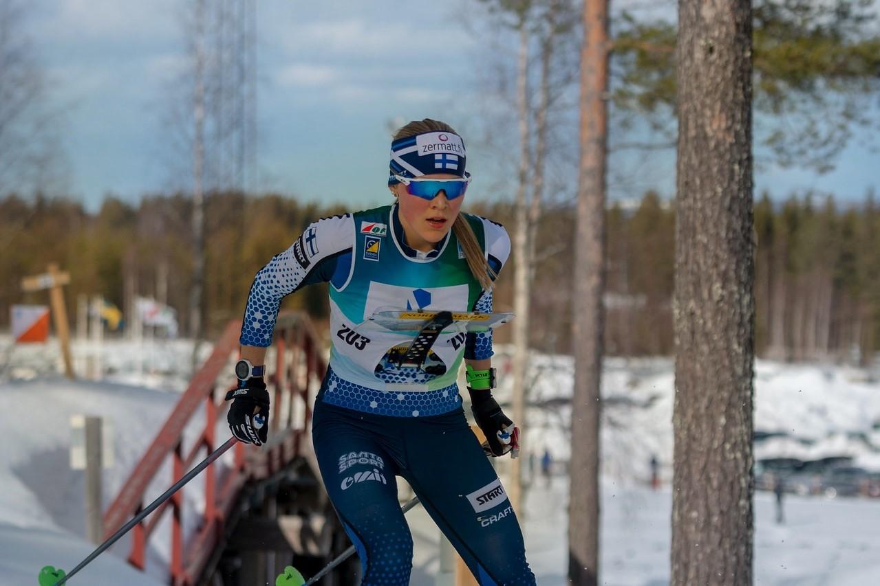 Siiri Saalo saavutti MM-kisoissa hopeaa.. Kuva Paula Lehtomäki/SSL
