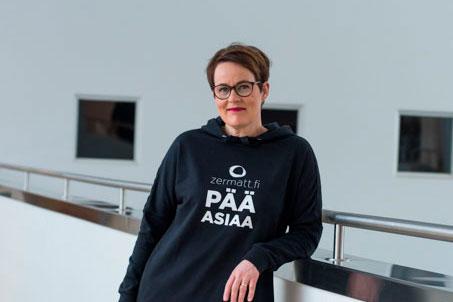 Johanna Konttila tj valmentaja business coach Zermatt